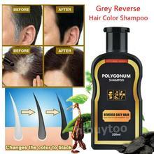 Hair Darkening Shampoo Bar Gray Hair Reverse Natural Polygonum Essence Care for Hair Care Styling