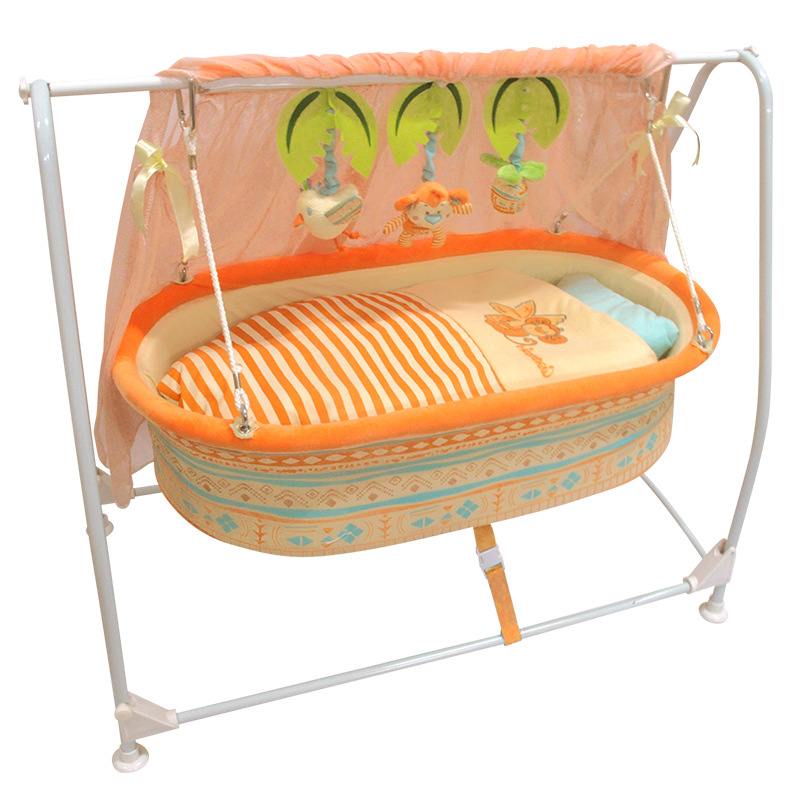 Baby Bed 2019 The New Baby Bassinet Cradle  Swing Type Bed  Swing Music Remote Control Bed  Baby Crib