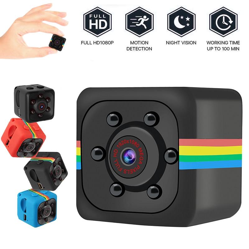 SQ11 Mini Camera Full HD 960P Sports Cameras Night Vision Car DV DVR Easy To Install Home Protection Cams Dropshipping