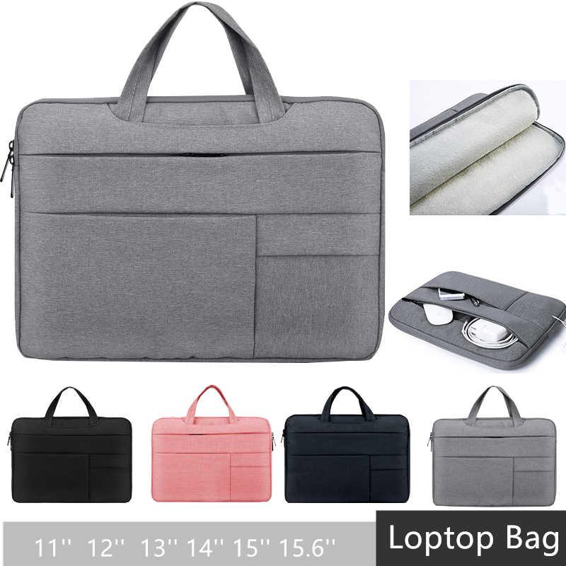 """Sac à main pour ordinateur portable manchon étui pour macbook Air Pro 12 """"13"""" 15 pochette pour ordinateur portable 15.6 sac pour ordinateur portable pour sac à main d'affaires 13.3 """"15.4"""" 15.6"""""""