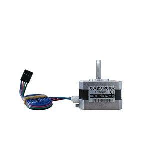 Image 1 - 50 pz/lotto 17HS2408 4 lead Nema 17 Motore Passo passo 42 motore 42BYGH 0.6A CE ROSH ISO CNC Laser grind Foam Plasma Cut