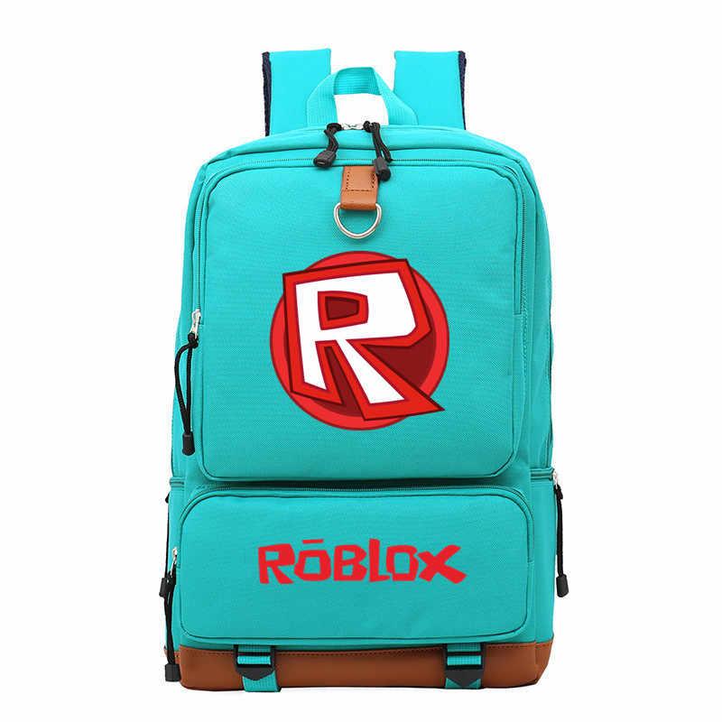 ROBLOX Casual canvas vrouwen rugzak mochila mujer outdoor reistassen solid eenvoudige mannen student schooltas