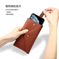 New luxury leather multifunctional universal mobile phone case For iphone case fashion wallet design case For iphone samsung