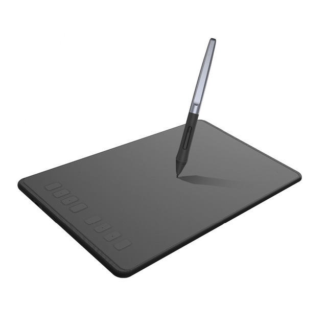 HUION 9 Inch Graphic Tablet H950P 8 Press Keys Digital Drawing Pen Tablet with 8192 Levels Battery-Free Stylus Tilt Function