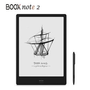 Image 1 - חדש הגעה BOOX הערה 2 ספר אלקטרוני קורא 10.3 אינץ 4G/64G אנדרואיד 9 אינטליגנטי ספר אלקטרוני דיו מסך לוח בכתב יד מחברת