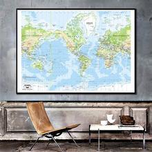 150x100 см карта мира меркатор проекция виниловый спрей живопись карта без национального флага