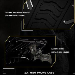Image 3 - R JUST Batman étui antichoc pour Iphone 11 Pro 12 Mini Max Xr Xs Max 7 8 Samsung S10 S9 Plus housse de luxe en Aluminium en métal