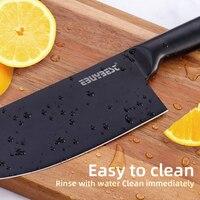 Japanese Kitchen Knife Set Stainless Steel  5 3