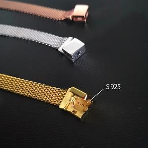 Image 3 - S925 argento del braccialetto di colore set FAI DA TE Bracciale con charms s925 Fit di lusso originale charms Braccialetto Delle Donne Gioielli regali per le donne