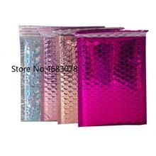 25pcs/lot 15*20cm+4cm Bubble Envelopes Bags Mailers Padded S