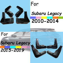 For Subaru Legacy mud guards subaru fenders flaps splash car accessories auto styling 2010-2019