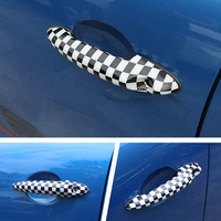 For MINI Cooper S JCW R55 R56 R60 R61 Car Sticker Decoration Accessories 2 Pcs Car Exterior Door Handle Protection Cover shell