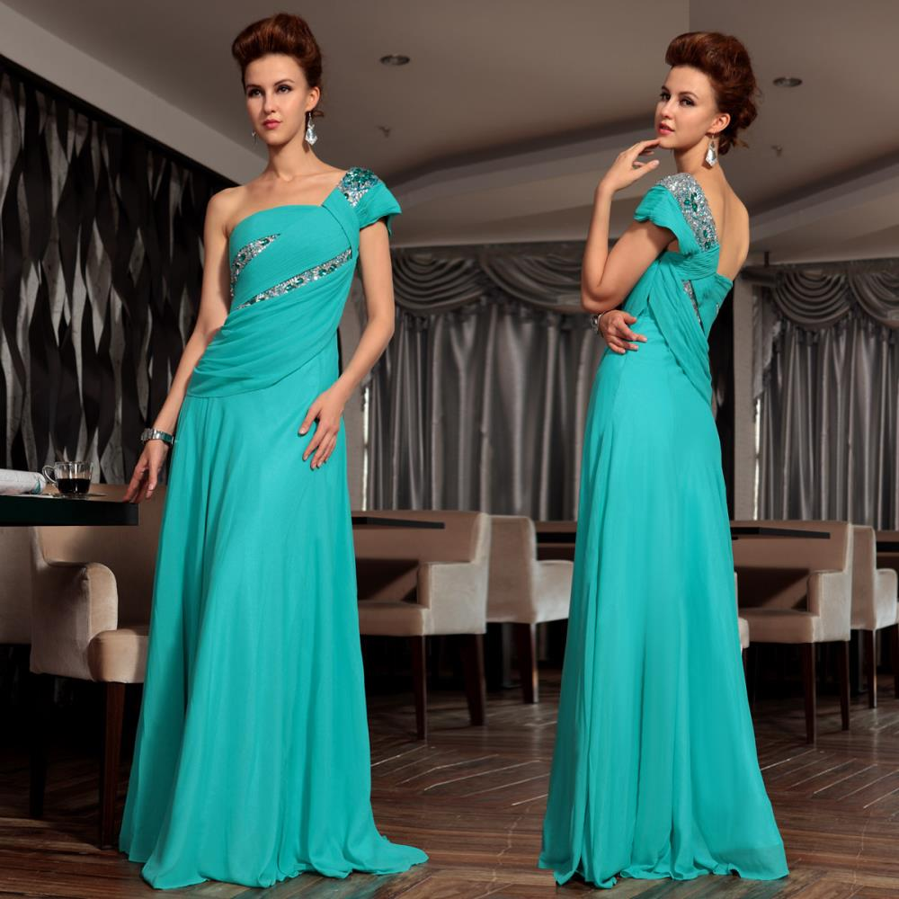 free shipping 2018 brides maid maxi long blue one shoulder vestidos formales cars banquet wine design bridesmaid dresses