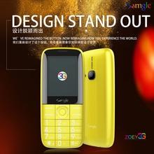 """Samgle Bar 3g WCDMA с функцией телефона 2,"""" цветной дисплей большая клавиатура фонарь долгий режим ожидания батарея Whatsapp Facebook пожилых людей"""