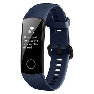 Image 2 - Huawei Honor Band 5 Version mondiale bande intelligente étanche AMOLED affichage Fitness sommeil Tracker sang oxygène Bracelet intelligent montre