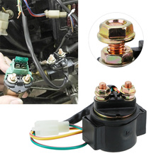 12V Motorcycle Solenoid Starter Relay Dirt Pit Bike Motorbike Accessories Replacement For GY6 50cc 125cc 150cc Scooter ATV CG125