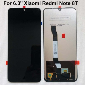 Image 4 - 100% 새 원본 + 프레임 6.3 xiaomi Redmi 참고 8T LCD 디스플레이 화면 교체 LCD 터치 스크린 디지타이저 10 터치