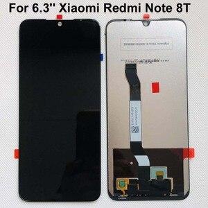 Image 4 - 100% yeni orijinal + çerçeve için 6.3 Xiaomi Redmi not 8T için LCD ekran ekran yedek LCD dokunmatik ekran digitizer ile 10