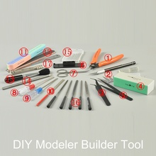 DIY Military Gundam Hobby Model Tool Kit Set Airplane Ship Tank Plastic Scale Building Modeling Model Nippers Cutting Mat
