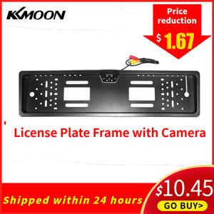 KKMOON Frame Reversing-Camera License-Plate Universal Car CCD HD Auto-Product Led-Backup
