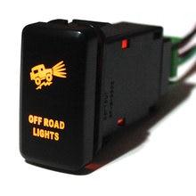 Izlancer внедорожные огни кнопка переключатель оранжевый светодиод