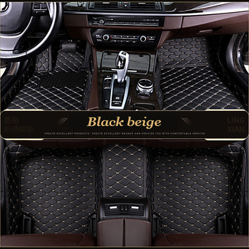 Custom Car Floor Mats for mitsubishi pajero sport 2017 outlander xl pajero 4 outlander 3 asx Lancer accessories carpet image