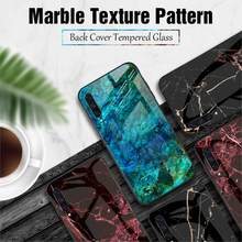 Tempered Glass Case For Xiaomi Mi 9 SE Mi 8 Lite A1 A2 Max 3 Mix 3 6X Cover On Redmi Note 7 5 6 Pro 4X 6A 5 Plus S2 Marble Cover(China)