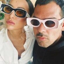 Яркие квадратные очки snglasses для женщин и мужчин роскошные