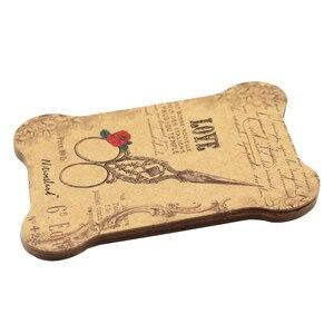 Image 3 - 100 個紙糸カード刺繍糸ボビンため収納ホルダークロスステッチ紙ボード
