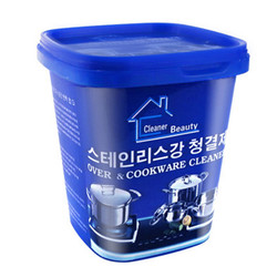 All Purpose Cream Stainless Steel Paste Metal Polishing Cookware Cleaning Paste Household Kitchen Cleaner Washing Pot Bottom