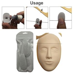 Image 5 - 1pc גבות שליט זהב יחס Caliper Microblading אביזרי גבות שבלונות קעקוע Meaure כלים איפור הקבוע