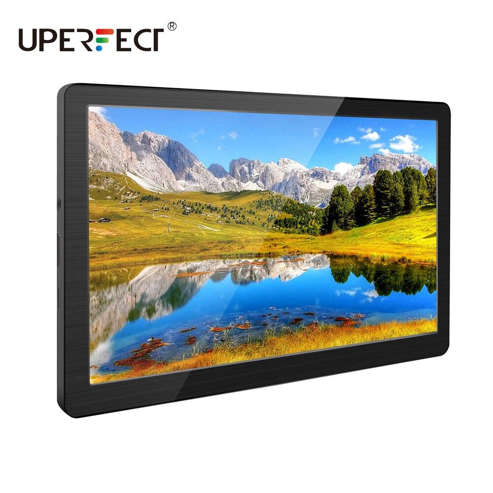 Uperfect 7-inch computador monitor de jogo portátil 1024x600 ips 169 tela led alto-falantes hdmi usb para raspberry pi ps4 xbox