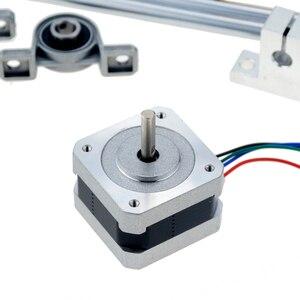 Image 4 - 3D drukarki szyny prowadzącej zestawy T8 śruba pociągowa długość 500mm + wał liniowy 8*500mm KP08 SK8 SC8UU osłona na nakrętki sprzęgła silnik krokowy