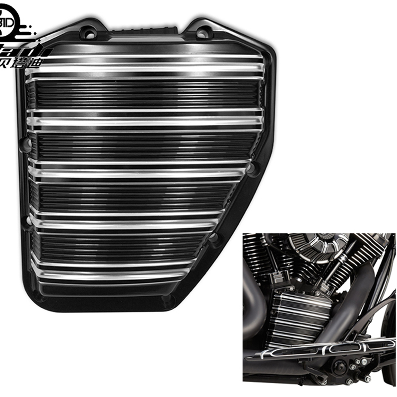 Motorcycle Parts CNC Forged Cam Cover For Harley 2001-2016 2017 Twin Touring Electra Glide FLHTC Blackline Breakout Dyna