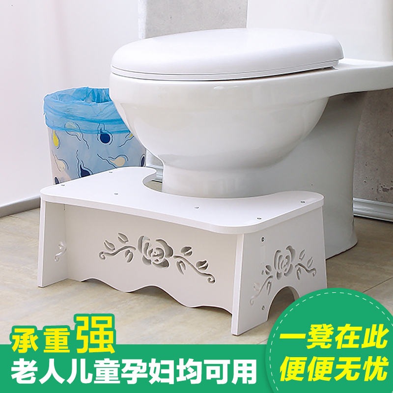 Image 2 - Last one cheap waterproof Stool Toilet Stool Convenient & Compact Great for Travel Fits all toiletsFolds for easy storage-in Bathroom Chairs & Stools from Furniture