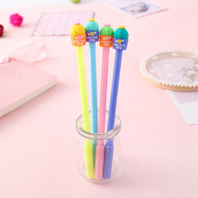 Ellen Brook 1 Pcs Korea Stationery Cute Permen Warna Kaktus Hidup Pen Iklan Gel Pen Sekolah Fashion Kantor Kawaii Supply(China)