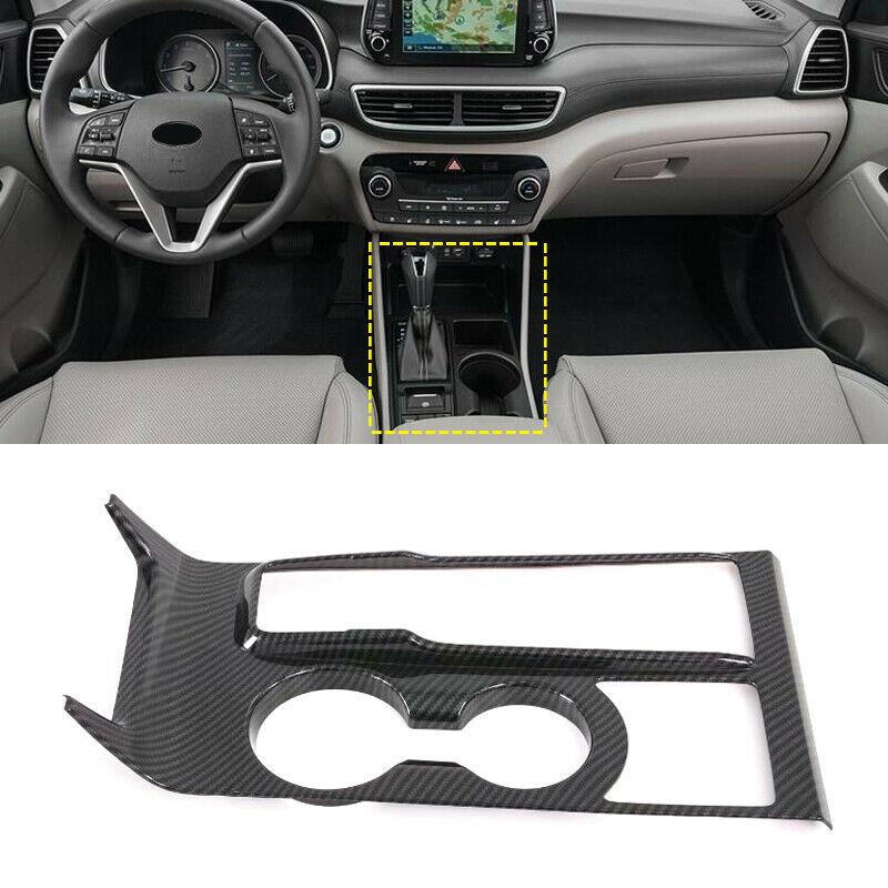 ABS углеродное волокно центральная консоль коробка переключения передач Панель Накладка для Hyundai Tucson 2019-2020