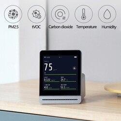 Xiaomi Mijia ClearGrass detektor powietrza Retina ekran dotykowy IPS telefon komórkowy dotykowy pracy w pomieszczeniach na zewnątrz jasny trawa Monitor powietrza 3