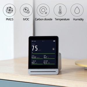 Image 3 - Youpin ClearGrass Air เครื่องตรวจจับ Retina TOUCH IPS หน้าจอ TOUCH ในร่มกลางแจ้ง Air Monitor สำหรับ Mijia APP Control