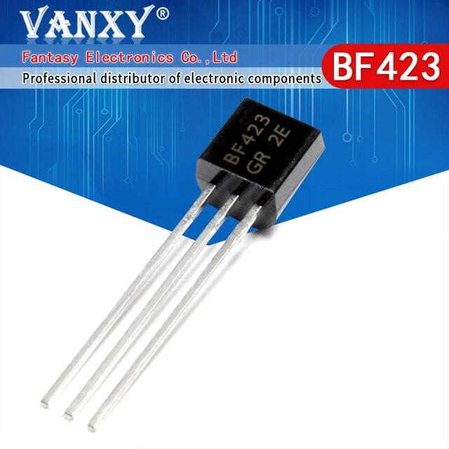 100 peças bf423 to 92 423 to92 novo triode transistor