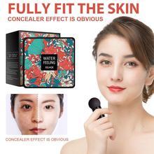 Air Cushion Mushroom Head CC Cream Concealer Moisturizing Up Make Long-lasting Face BB Makeup Cream Foundation I9K4