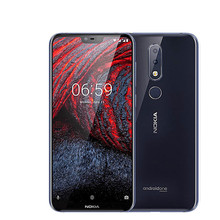 Nokia 6.1 Plus Android LTE Mobile Phone 5.8″ FHD+ 4GB 64GB  Snapdragon 636 Octa Core Fingerprint 4G Smartphone