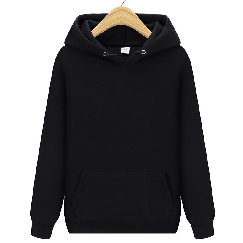 Men Brand Hooded Hoodies Streetwear Hip Hop Mens Hoodies And Sweatshirts 2019 New Solid Red Black Gray Green White Purple