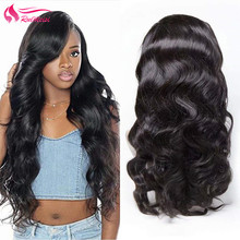 Wigs Frontal 360-Lace Human-Hair-Wig with for Black Women Natural-Color Body-Wave RUIMEISI