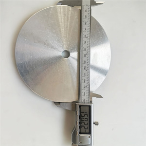 "Image 5 - 6"" / 8"" Aluminum Master Lap Polishing Plate Holder for Diamond Grinding Pad / Sanding Disc"