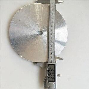 """Image 5 - 6 """" / 8"""" אלומיניום מאסטר חיק ליטוש צלחת בעל ליהלומי גריסה Pad/מלטש דיסק"""