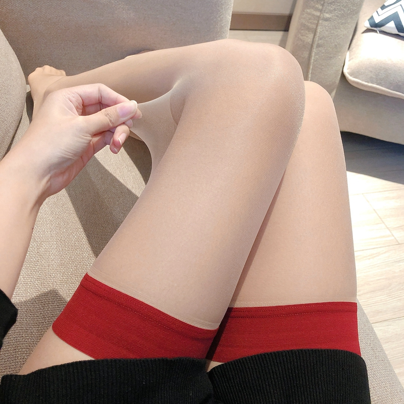 Ultra-thin Sexy Stockings Women Over The Knee Thin Silicone Slip Non-slip Transparent 0917