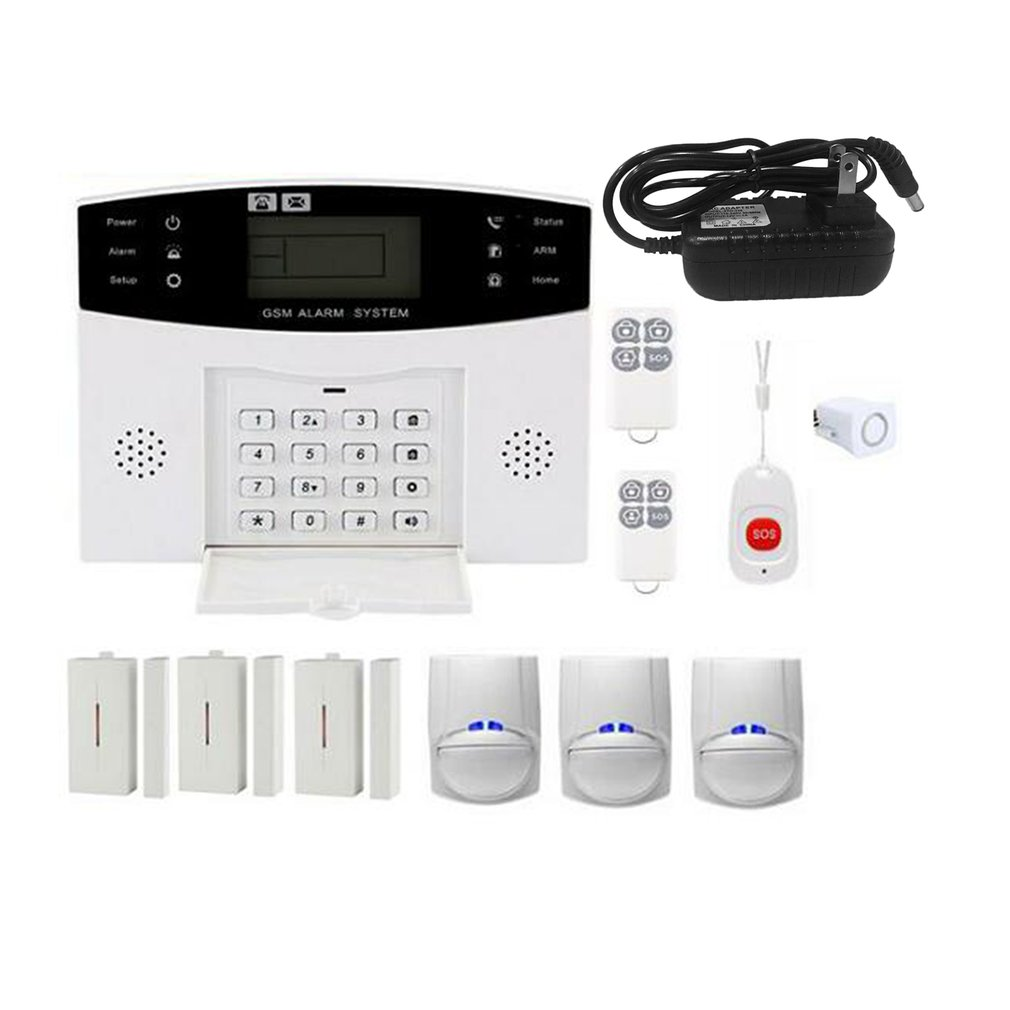 Gsm Wifi Wireless Alarm System For Home Security Security Alarms Car Home Alarm House Escape Room Residential Alarm Keychain