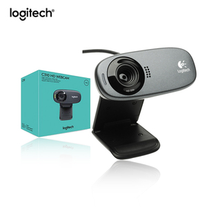 Logitech C310 HD Web Cam 720p 5MP Video with Lighting Correction microphone New in Box