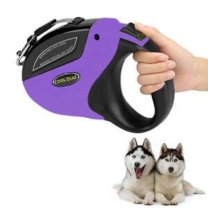 Image 1 - Retrattile Guinzaglio Del Cane Anti Slip Pet Walking Jogging Formazione Guinzaglio per le Piccole Medie Cani di Taglia Grande Fino a 110lbs Roulette per I Cani
